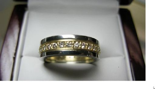 Custom Made Men's Custom Eternity Ring