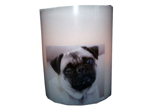 Custom Made Photo Candle