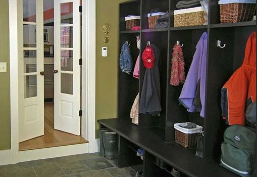 custom coat rack cubby built in by salmon falls woodworks  inc