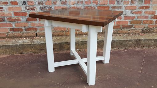 Custom Made (2) Contemporary Farmhouse End Table