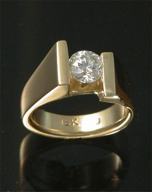 Custom Made 18kt Yellow Gold With .80ct Diamond