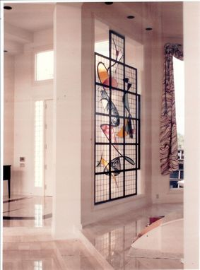"Custom Made Stained Glass Partitions With The ""Wow"" Factor!"