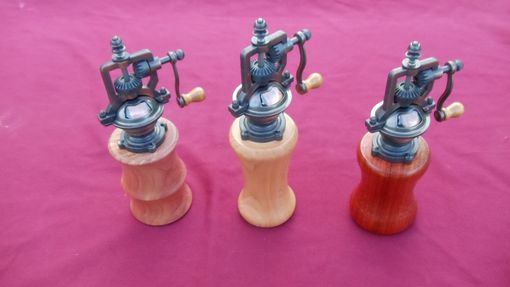 Custom Made Antique Style Pepper Mill
