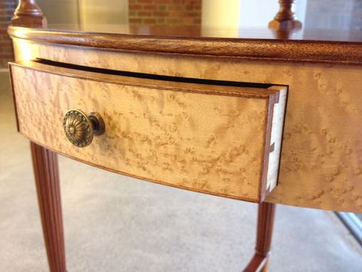 Custom Made Federal Corner Washstand