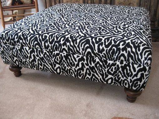 Custom Made Custom Ottoman For Private Client