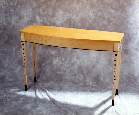 "Custom Made ""Deco Dots"" Sofa Table"