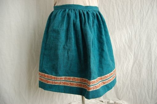 Custom Made High Waist Dirndl Skirt