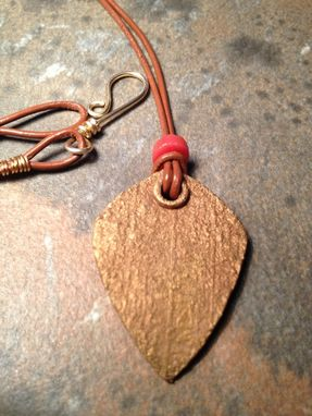 Custom Made Bronze Tribal Pendant