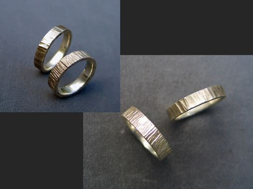 Custom Made Forged Sterling Bands