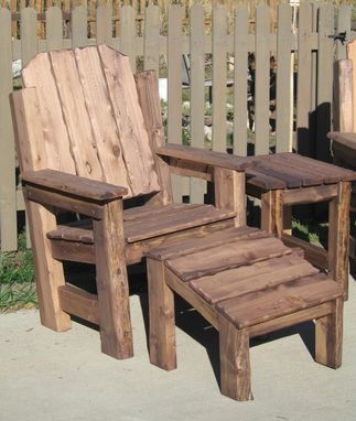 Custom Made Rocky Mountain Chair