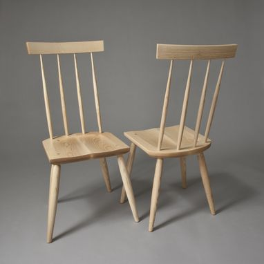 Custom Made Stick Chair In Ash