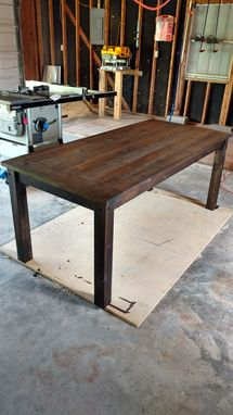 Custom Made Rustic Dinner Table