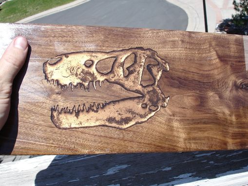 Custom Made T-Rex Inlay