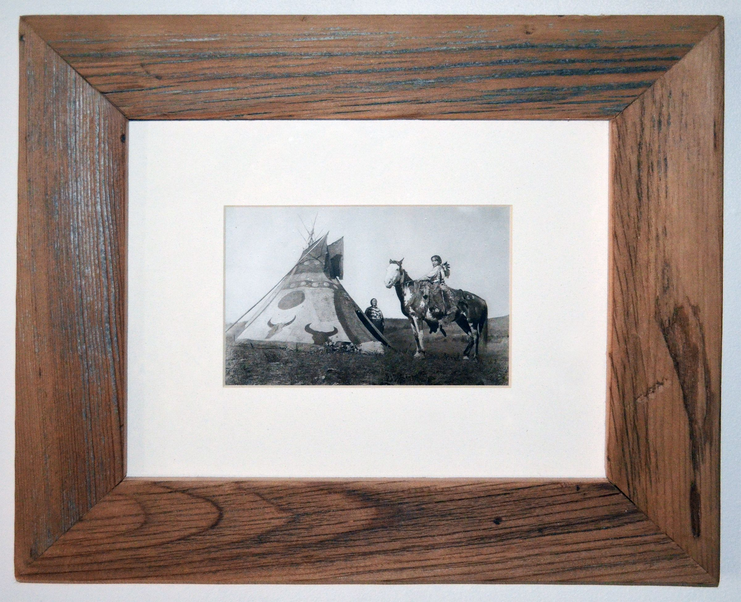 Buy Hand Crafted Rustic Picture Frames, made to order from ...