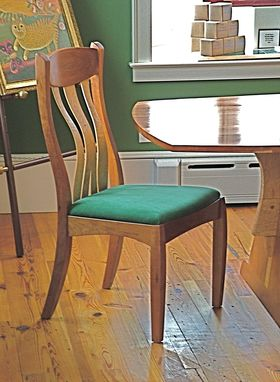 Custom Made Harmony Desk/Dining Chair In Cherry