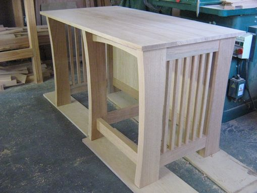Custom Made Oak Desk