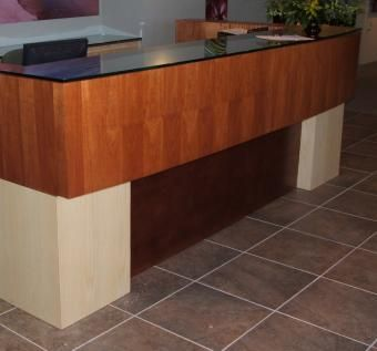 Custom Made Commercial Reception Desk