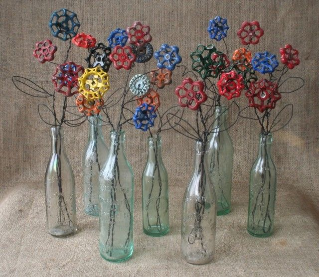 Custom Vintage Steampunk Flower Art By Miloyugo