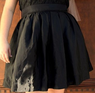 Custom Made 1950s Pleated Full Skirt Made To Order Any Size, Material & Length Built In Petticoat