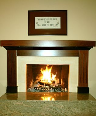 Custom Made Fireplace Mantles