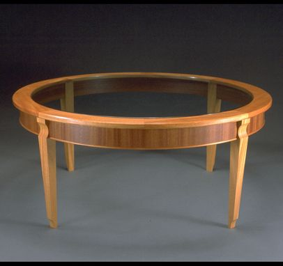 Custom Made Round Coffee Table