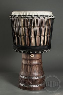 Custom Made Custom Vegan Friendly Djembe Drum