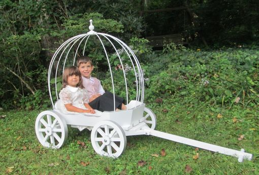 Custom Made Large Angel Carriage - Painted