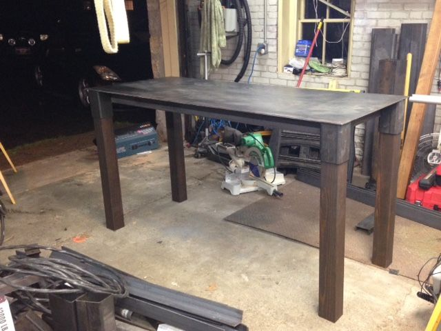 Custom Metal Work Table By Costa Fabrications Custommade Com
