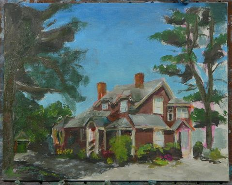 Custom Made House Portrait - Mostly Bungalow
