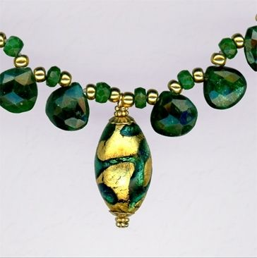 Custom Made Emerald Necklace