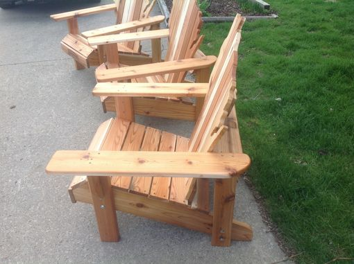 handmade adirondack chairs handmade cedar adirondack wisconsin chairs with 2286