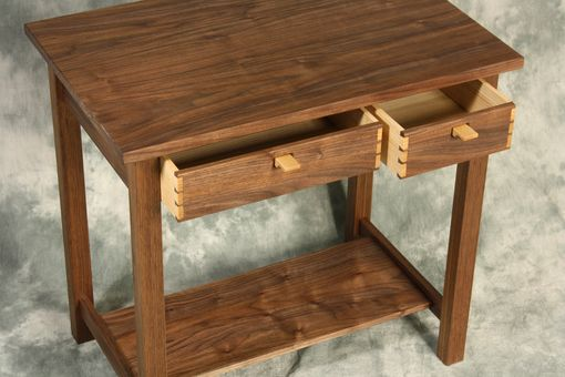 Custom Made Modern Arts And Crafts End Table
