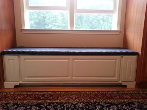 Custom Made Window Bench W/ Drawers
