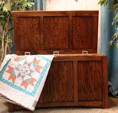 Custom Made Blanket Chest/Wedding Chest
