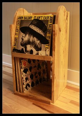 Custom Made Two Tier Record Album Holder
