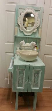 Custom Made Sold Shabby Bathroom Vanity