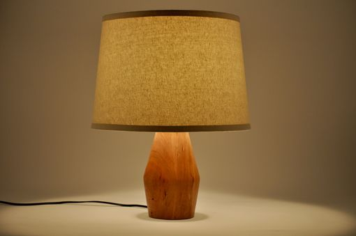 Custom Made Modern Cherry Lamp