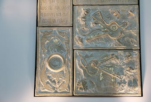 Custom Made Indoor And Outdoor Ceramic Wall Sculpture & Indoor Or Garden Architectural Tiles