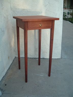 Custom Made Will's Mahogany Shaker/ Hepplewhite Nightstand