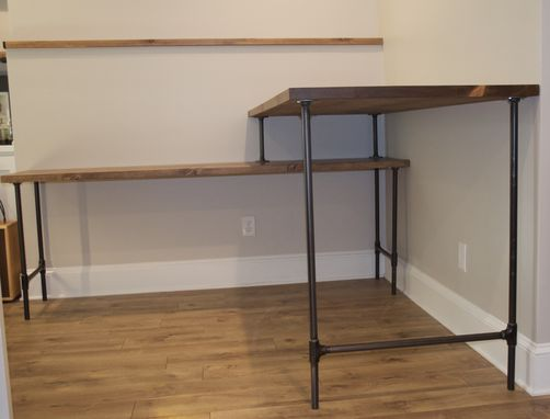 Custom Made Stand Up Sit Down Desk