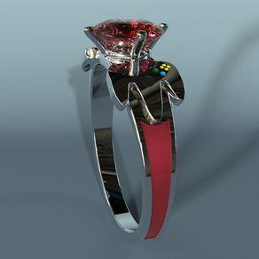 nintento geeky engagement ring - Geeky Wedding Rings