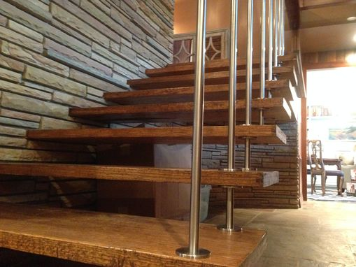 Custom Made Stainless Steel Staircase Supports