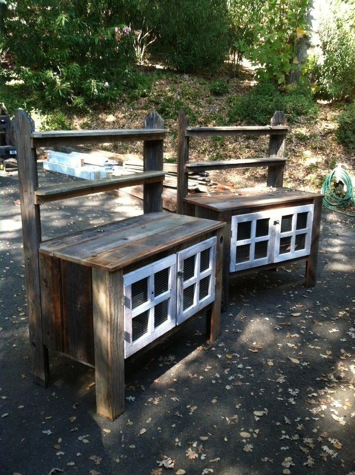 Miraculous Custom Potting Bench With Shelves And Lockable Cabinet By Evergreenethics Interior Chair Design Evergreenethicsorg
