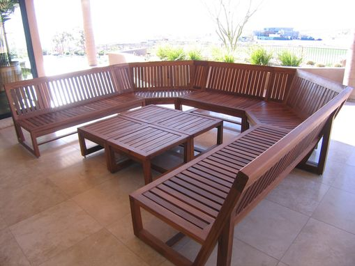 Custom Made Teak Patio Furniture
