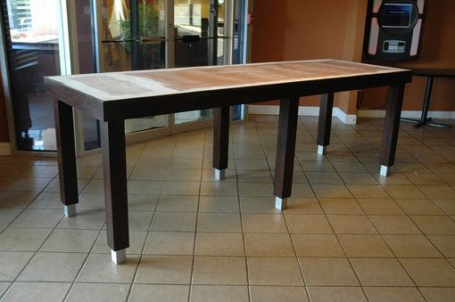Custom Made Large Table For Hotel Breakfast Area