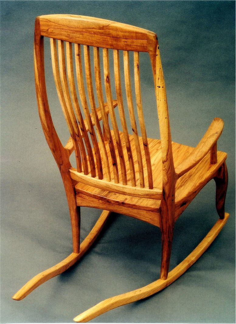 Outstanding Hand Crafted Texas Pecan Rocker By Louis Fry Craftsman In Unemploymentrelief Wooden Chair Designs For Living Room Unemploymentrelieforg
