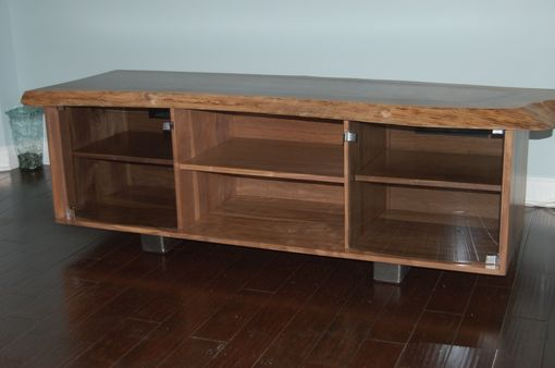 Custom Made Walnut Media Console