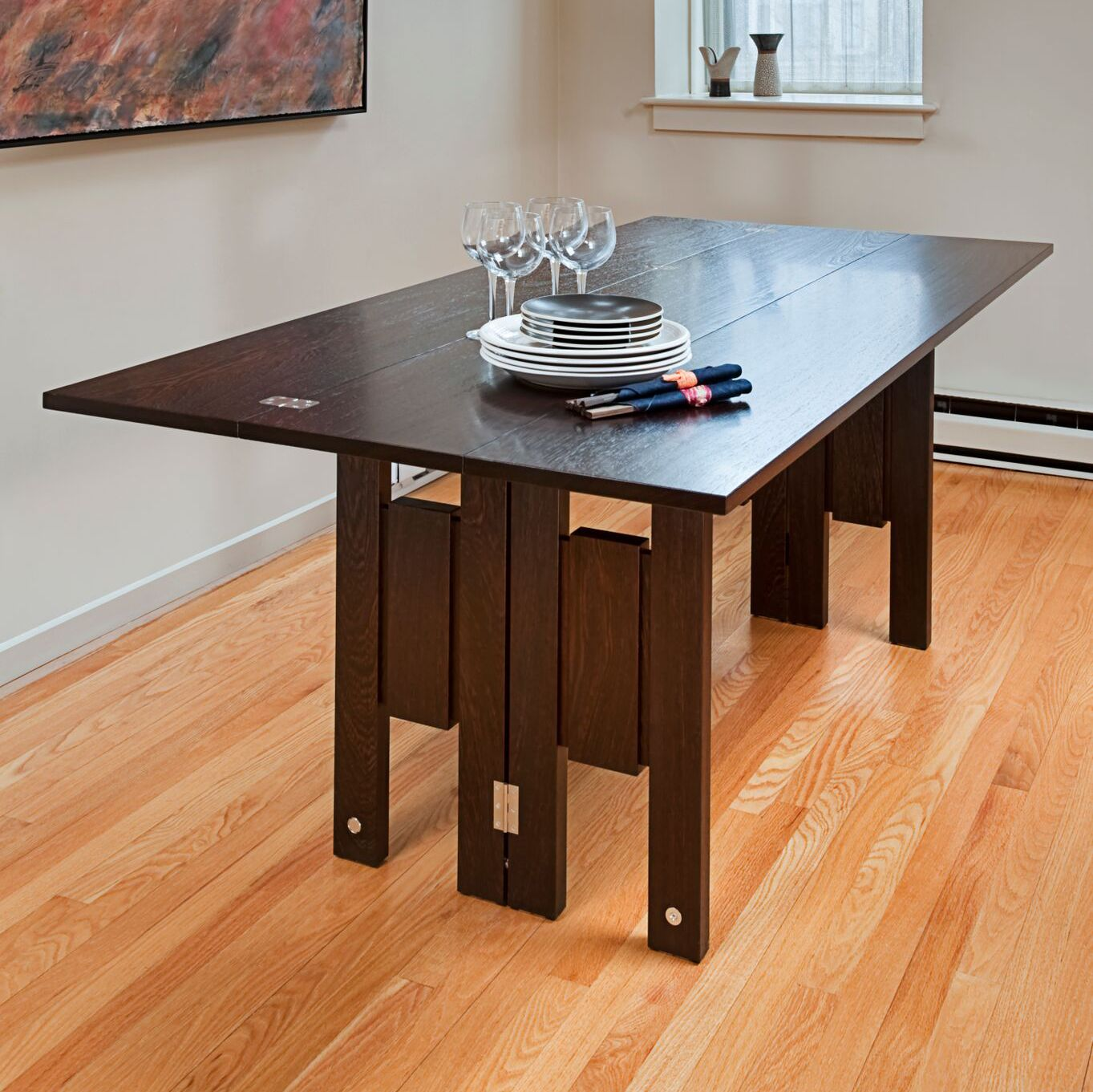 Hand made transformer table by infusion furniture custommade custom made transformer table geotapseo Choice Image