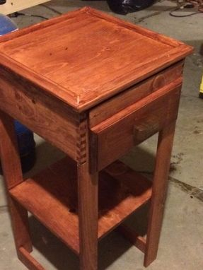 Custom Made Set Of Twin Shaker Style Nightstands