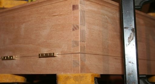 Custom Made Dovetailed Box For Special Book